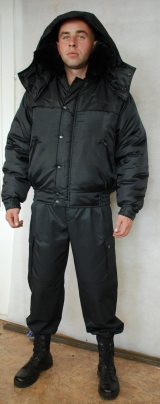 Куртка зимняя ОХРАНА