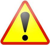 предупреждение, опасность